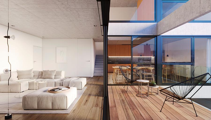 Casas en altura y todo cerca, la nueva demanda